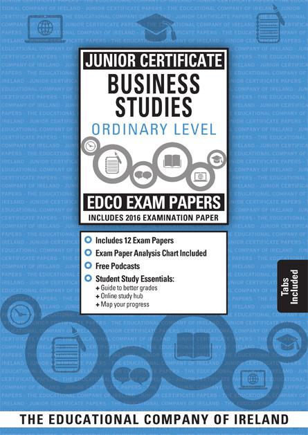Edco's Junior Certificate Business Studies OL Exam Paper
